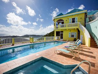 Villa Almost Heaven 3 Bedroom SPECIAL OFFER, Coral Bay