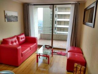 Apartamento em Santiago do Chile (Bairro Bellavista) - Vista para a Piscina