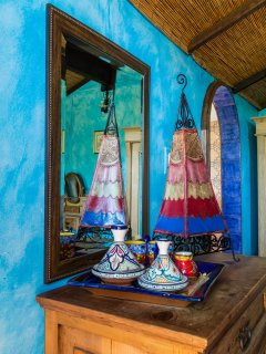 Tea  and fresh coffee in every cabin, Andalusian style