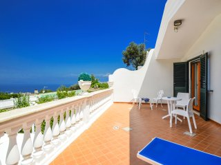 Villa Loto, sea view villa with private swimming pool and parking