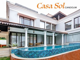 CasaSol - 4 Bed Pool Candolim Villa