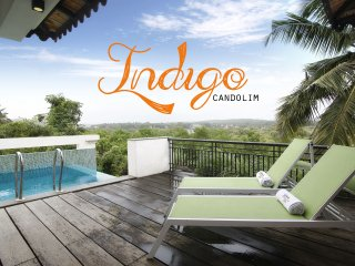 Indigo - 4 Bed Rooftop Pool Candolim Villa