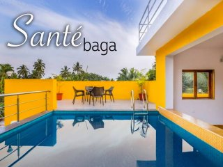 Sante at Baga - Rooftop Private Pool 5 Bed Villa