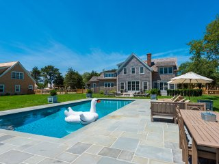 NAIDN - Chic Luxury Home, Heated 18 x 42 Gunite Pool,  Spectacular Patios, Edgartown