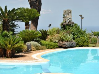 Villa panoramica con piscina, Trecastagni