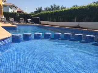 Refurbished golf view villa with private heated pool on 5* golf resort