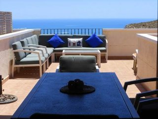 (477) Casa Brisas 1 quiet complex 3 bed apartment Wi-Fi stunning sea views