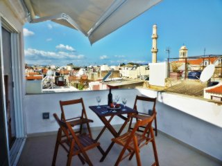 CHANIA Old Town,  2 bedrooms, 2 bathrooms,  modern  house