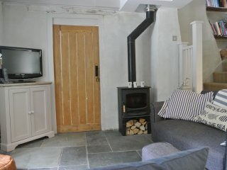 Traditional Cornish Cobb cottage near Padstow