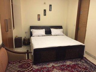AC Private Room + Living Room + Kitchen, New Delhi