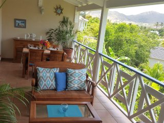 Beautiful house on the hills of Orient Bay, Marigot