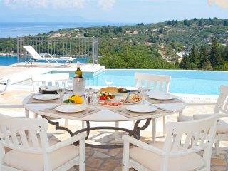 Jasper- High Elegant Sea View Villa, Paxos