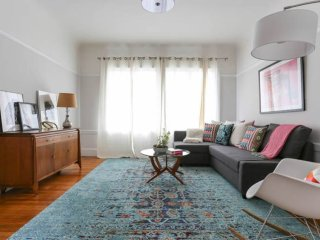 Furnished 3-Bedroom Apartment at Masonic Ave & Hayes St San Francisco