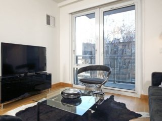 Delicate and Sleek 1 Bedroom Apartment in NYC - High Ceilings, Nova York