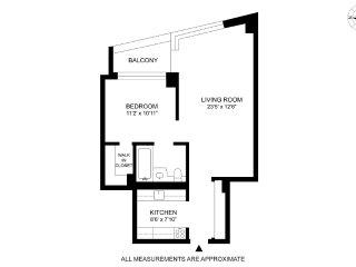 Fancy 1 Bedroom, 1 Bathroom Apartment With Great Amenities, New York City