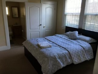 Furnished 1-Bedroom Condo at Seminary Ave & Harmon Ave Oakland
