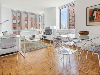 Furnished 2-Bedroom Apartment at 9th Ave & W 50th St New York, Weehawken