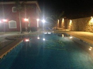 Villa Adelina cerca de mojacar playa con piscina