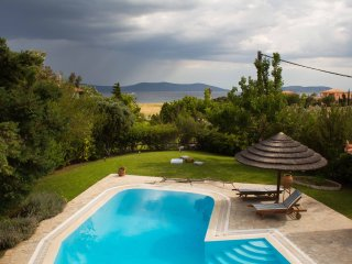 Porto Heli  - Gv - The Hydra View Villa with pool & garden near the beach with, Thermisia
