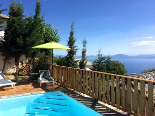 PELION HOMES | Villa THALIA contemporary with pool, Agios Georgios Nilias