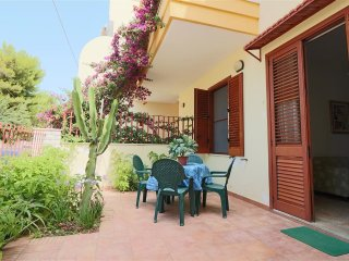 Holiday house villa in Lido Gallipoli Conchiglie on the ground floor with outdoo