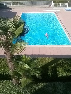 Les Jardins de L'ocean-Flat with Pool-2bdr
