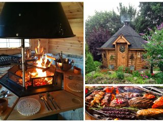 Our amazing BBQ Hut is available for guests staying in our cottages.
