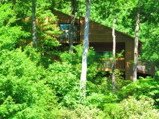 Luxury 4 BR-3BA Lakefront Mountain Sapphire/Cashiers Townhome--NO FEES BY OWNER