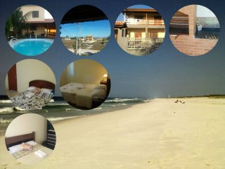 Casa c/ piscina entre o mar e lagoa, Arraial do Cabo