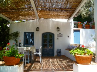 Traditional stone cottage in La Molineta., Frigiliana