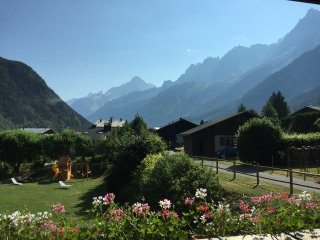 3 bed 3 bath apartment with views of Mont Blanc, Les Houches