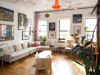 NYC - Lower East Side Manhattan 3 Bedroom Loft Apt