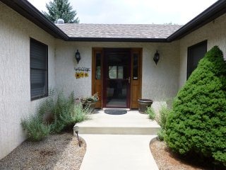 Large Contemporary Ranch House on the Mesa in Town, Salida