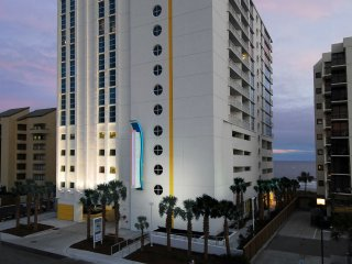 """Location"" ""Location"" Seaside TOWER Ocean Front Resort in Myrtle Beach, SC 1BED"