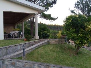 Casa com piscina e jardins. Vista p/ Atlântico, Barcelos