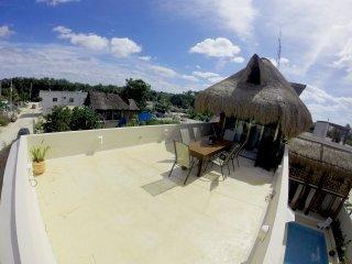 SOLES MAYAS Condo en Tulum Ciudad | Cielo Loft