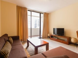 Spacious 2BR serviced apartment in Colombo center
