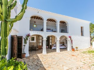 Stunning Family Friendly Ibiza style villa 7 bedrooms with private swimming pool