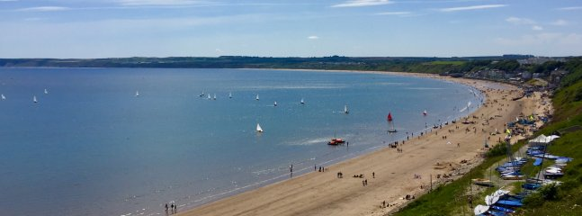 Filey Bay and its 5 miles of golden sands