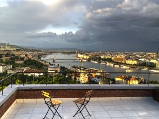 View of Budapest apartment