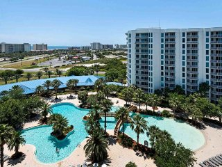 **SPECTACULAR VIEWS OF THE GULF & LAGOON POOL FROM YOUR 10th FLOOR BALCONY !**