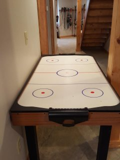 Air Hockey Fun for the Whole Family