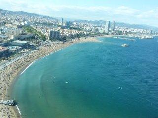 Junto a la playa, Barcelona