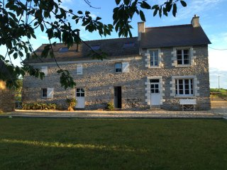 Charming renovated farmhouse in Brittany France