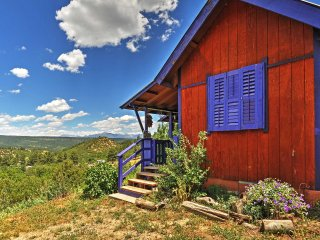 NEW! 10% Off 3 Nights Or More! Chalet in the Clouds 2BR Pagosa Springs Cabin