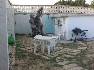Chalet Gallipoli Parcheggio giardino animali clima