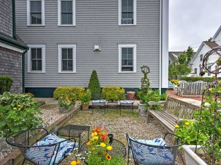 Prime 1BR 'Captain's Quarters' Provincetown Apartment w/Wifi, Private Patio & Wonderful Ocean Cape Views!