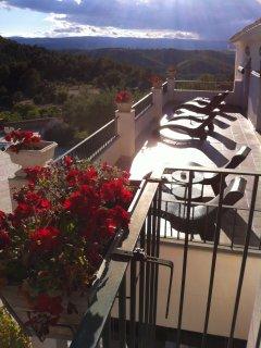 terraza de las suites