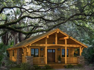 Log Cabin Home, Okeechobee