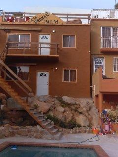 Lower duplex 3 bdrms, 2 baths. Walk to everything in Cabo!